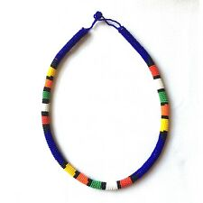 Handmade Zulu Traditional Beaded Necklace (South Africa)