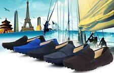Oxfords Mens suede leather Moccasin Driving casual slip on Loafer comfort Shoes