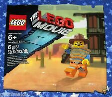 Western Emmet Lego The Movie Video Game Exclusive Promo Minifigure 5002204 MISP