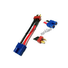 2 EC3 Female to Dean's T Plug Male Wire Connector Adapter Converter NIMH P08