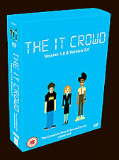 The IT Crowd - Series 1-2 - Complete (DVD, 2007, 2-Disc Set, Box Set)