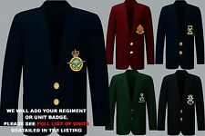UNIT Q-R ARMY ROYAL AIR FORCE NAVY MENS LADIES REGIMENTAL BLAZER JACKET TO 52""