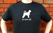 GOT WATER DOG? PORTUGUESE AMERICAN DOG GRAPHIC T-SHIRT TEE FUNNY CUTE