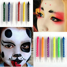 Non-toxic 6 Color Face Body Paint Painting Art Make Up Halloween Party Fancy Set