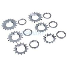 Fixie Bike Sprocket Fixed Gear Single Speed Cog Threaded Lock Ring 13T~18T