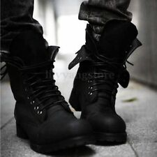 Men Retro Combat boots Winter England style Army Combat short shoes 2 Colors