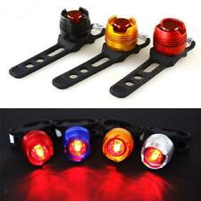 Bike Bicycle Cycling Front Rear Tail Helmet Red LED Light Flash Safety Warn Lamp