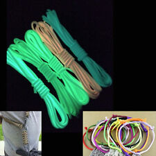 Luminous 7 Strand Core 25FT 50FT 100FT Paracord Parachute Cord Lanyard Survival
