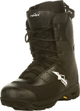 HMK Team Lace Mens's Black Snowmobile Boot Four Adult Sizes