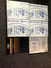 2005 Ford TRUCK F-250 F250 350 450 550 Service Shop Repair Manual SET NEW W 6.0