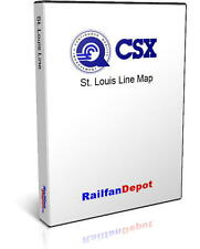 Conrail St. Louis Line: Indianapolis to St. Louis - PDF on CD - RailfanDepot