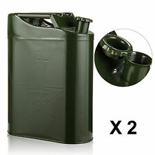 Liter jerry metal can for petrol diesel oil fuel water container uk