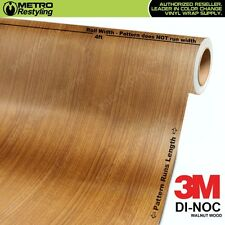 3M DI-NOC WALNUT WOOD Grain Vinyl Wrap Sheet Film Sticker Decal Roll Adhesive