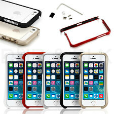 For iphone 5 5s bumper New Aluminum Metal Hard Frame Bumper Cleave Cover Case