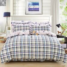 New Twin Full Queen King Size 450TC 100%Cotton Duvet/Quilt Cover Bedding Set