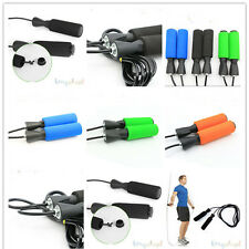 Aerobic Exercise Boxing Skipping Jump Rope Adjustable Bearing Speed Fitness s0