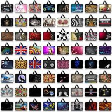 """Many Style 15"""" 15.4"""" 15.6"""" Laptop Computer Bag Case Sleeve Netbook Hide Handle"""