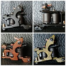 New Casting Tattoo Machine Gun 10 Coil Wraps for Shader or Liner XHJ002 3 Color