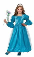 Deluxe Water Lily Royal Princess Medieval Renaissance Dress Girls Child Costume