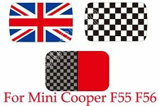 Checkered Union Jack Sun Roof Decal Stickers Graphic For Mini Cooper F55 F56