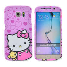 Hello Kitty Case 2 in 1 Bumper Frame Sweet Heart Cover Full Protection Purple