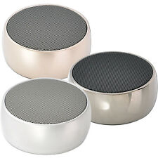 Portable Wireless Bluetooth Stereo Loudspeaker Speaker w/Mic Rechargeable