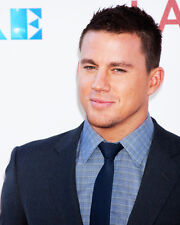 Channing Tatum Portrait in Suit Poster or Photo