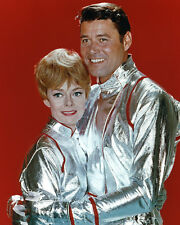 Lost in Space Guy Williams June Lockhart Color Poster or Photo Space Suits