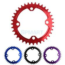 Aluminum BCD 104mm MTB Race Moutain Bike Single Narrow Wide Round Chainring 36T
