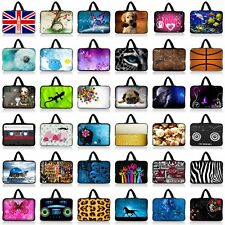 "Many Design Sleeve Bag Case +Handle For 9"" 10"" 10.1"" 10.2"" Laptop Netbook Tablet"