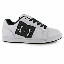 DC Serial Graffik Skate Shoes Mens White/Black Casual Trainers Sneakers