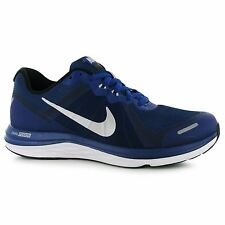 Nike Dual Fusion X Running Shoes Mens Royal/Silver Fitness Trainers Sneakers
