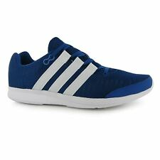 Adidas LiteRunner Running Shoes Mens Blue/White Fitness Sports Trainers Sneakers