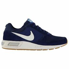 Nike Nightgazer Low Top Running Shoes Mens Blue/White Fitness Trainers Sneakers