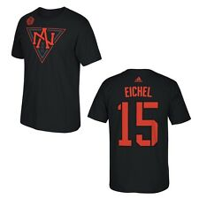 North America World Cup of Hockey Jack Eichel Black Name and Number T-Shirt
