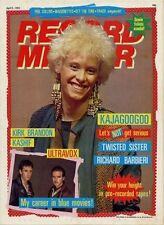 Kajagoogoo Ultravox Twisted Sister Kirk Brandon Kashif Richard Barbieri mag