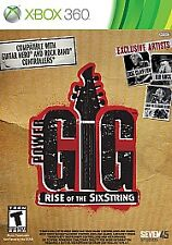 Power Gig: Rise of the SixString  (Xbox 360, 2010)