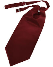 New Mens Satin Cravat Tie Victorian Dickens Formal Wedding TUXXMAN All Colors