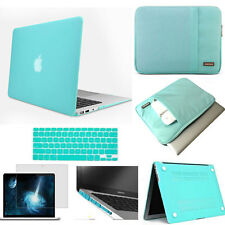 Sleeve bag hard case keyboard cover screen protector For MAC macbook Pro Air