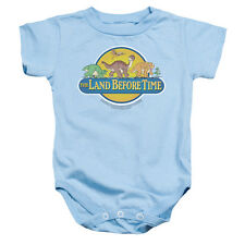 Land Before Time/Dino Breakout Infant Snapsuit in Light Blue