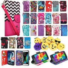 Samsung Galaxy Note 4 Cell Phone Case Hybrid PU Leather Wallet Pouch Flip Cover