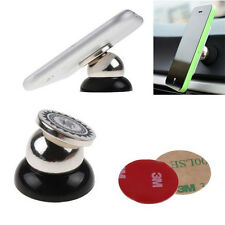 360 Degrees Rotation Magnetic Car Phone Holder For iPhone Samsung GPS DVR LG HTC