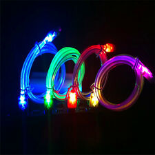 Flossy Lighting LED Crystal USB Data Sync Charger Cable For Android Phone EF