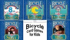 BICYCLE Brand KIDS CARD GAMES Windows PC XP Vista 7 8 10 FACTORY SEALED New