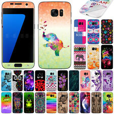 For Samsung Galaxy S7 G930 Pattern Vinyl Skin Decal Sticker Cover Protector