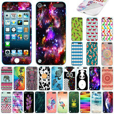 For Apple iPod Touch 5 5th/ 6 6th Gen Design Vinyl Skin Decal Sticker Cover