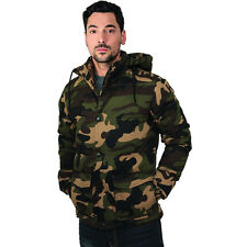 URBAN CLASSICS CAMO JACKET CAMOUFLAGE WINTER JACKET BUNDESWEHR MILITARY ARMY