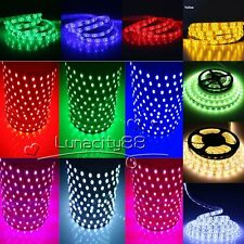 3528 5050 5630 SMD Stripe 16.4FT 300LED RGB White LED Strip Light Tape XMAS Lamp
