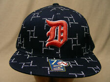 DETROIT TIGERS - FITTED AMERICAN NEEDLE BALL CAP HAT!