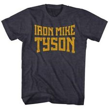 T-Shirts Sizes S-2XL New Authentic Mens Iron Mike Tyson Retro T-Shirt